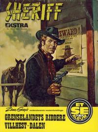 Cover Thumbnail for Et Se-album (Serieforlaget / Se-Bladene / Stabenfeldt, 1977 series) #18 - Sheriff ekstra