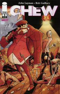 Cover Thumbnail for Chew (Image, 2009 series) #2 [First Printing]