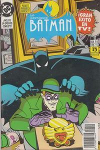 Cover for Aventuras de Batman (Zinco, 1993 series) #10