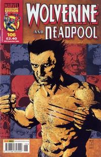 Cover Thumbnail for Wolverine and Deadpool (Panini UK, 2004 series) #106