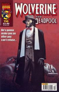 Cover Thumbnail for Wolverine and Deadpool (Panini UK, 2004 series) #110