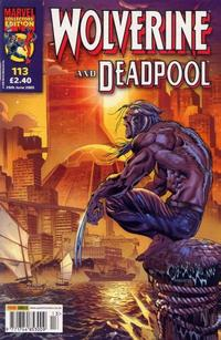 Cover Thumbnail for Wolverine and Deadpool (Panini UK, 2004 series) #113
