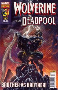 Cover Thumbnail for Wolverine and Deadpool (Panini UK, 2004 series) #117