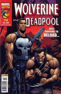 Cover Thumbnail for Wolverine and Deadpool (Panini UK, 2004 series) #119