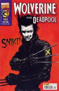 Cover Thumbnail for Wolverine and Deadpool (Panini UK, 2004 series) #121