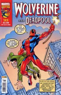 Cover Thumbnail for Wolverine and Deadpool (Panini UK, 2004 series) #123