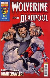 Cover Thumbnail for Wolverine and Deadpool (Panini UK, 2004 series) #131