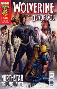 Cover Thumbnail for Wolverine and Deadpool (Panini UK, 2004 series) #140