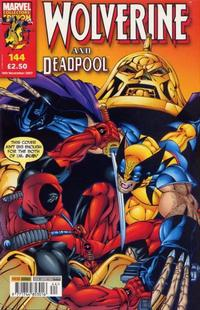 Cover Thumbnail for Wolverine and Deadpool (Panini UK, 2004 series) #144