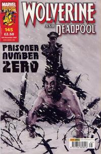 Cover Thumbnail for Wolverine and Deadpool (Panini UK, 2004 series) #145