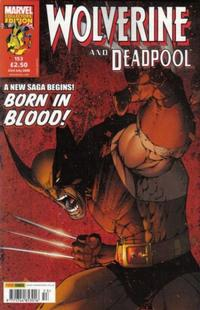 Cover for Wolverine and Deadpool (Panini UK, 2004 series) #153