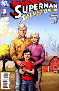 Cover Thumbnail for Superman: Secret Origin (DC, 2009 series) #1 [Gary Frank Kents Cover]