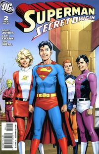 Cover Thumbnail for Superman: Secret Origin (DC, 2009 series) #2 [Gary Frank Legion Founders Cover]