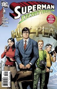 Cover Thumbnail for Superman: Secret Origin (DC, 2009 series) #3 [Gary Frank Daily Planet Cover]