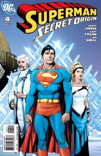 Cover Thumbnail for Superman: Secret Origin (DC, 2009 series) #4 [Gary Frank Fortress Cover]