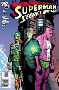 Cover Thumbnail for Superman: Secret Origin (DC, 2009 series) #5 [Gary Frank Villains Cover]