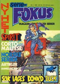Cover Thumbnail for Seriefokus (Semic, 1980 series) #1/1980