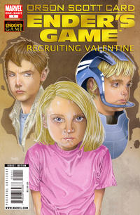 Cover Thumbnail for Ender's Game: Recruiting Valentine (Marvel, 2009 series) #1