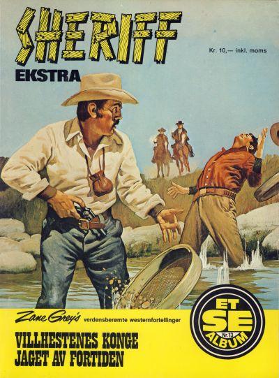 Cover for Et Se-album (Serieforlaget / Se-Bladene / Stabenfeldt, 1977 series) #13 - Sheriff ekstra
