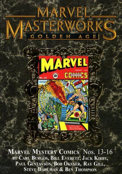 Cover for Marvel Masterworks: Golden Age Marvel Comics (Marvel, 2004 series) #4 (116) [Limited Variant Edition]