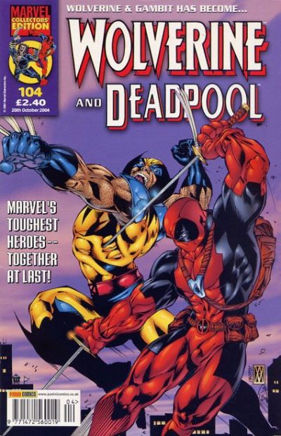 Cover for Wolverine and Deadpool (Panini UK, 2004 series) #104