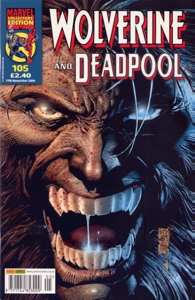Cover for Wolverine and Deadpool (Panini UK, 2004 series) #105