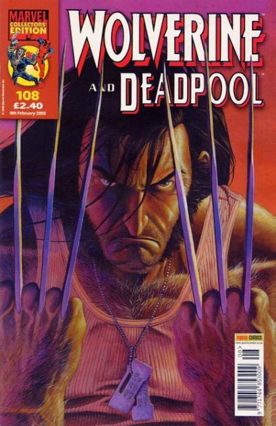 Cover for Wolverine and Deadpool (Panini UK, 2004 series) #108