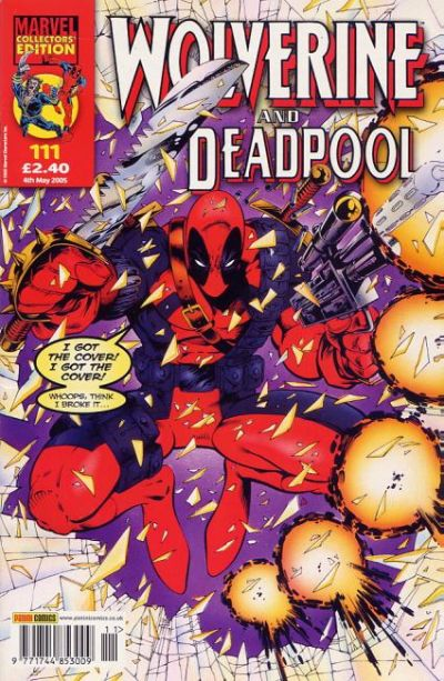 Cover for Wolverine and Deadpool (Panini UK, 2004 series) #111