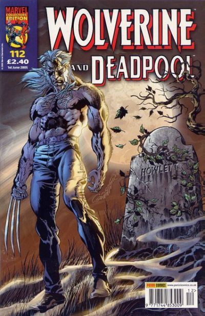 Cover for Wolverine and Deadpool (Panini UK, 2004 series) #112