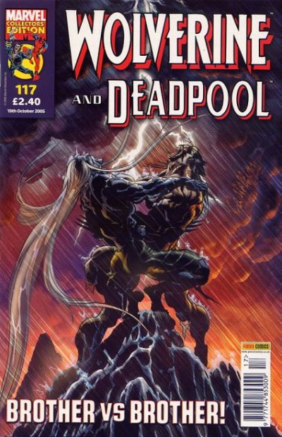 Cover for Wolverine and Deadpool (Panini UK, 2004 series) #117