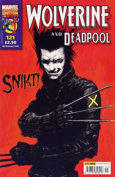 Cover for Wolverine and Deadpool (Panini UK, 2004 series) #121