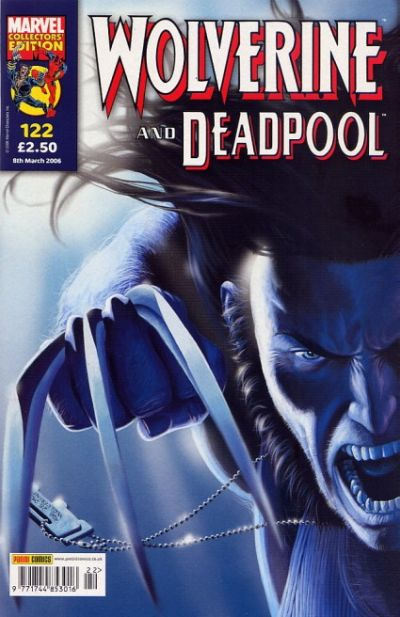 Cover for Wolverine and Deadpool (Panini UK, 2004 series) #122