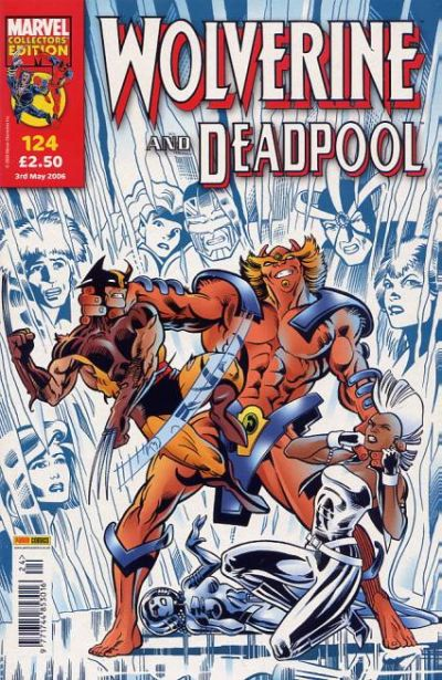 Cover for Wolverine and Deadpool (Panini UK, 2004 series) #124