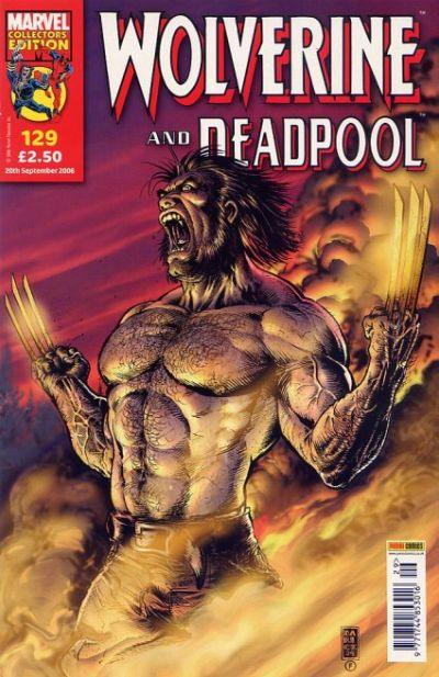 Cover for Wolverine and Deadpool (Panini UK, 2004 series) #129
