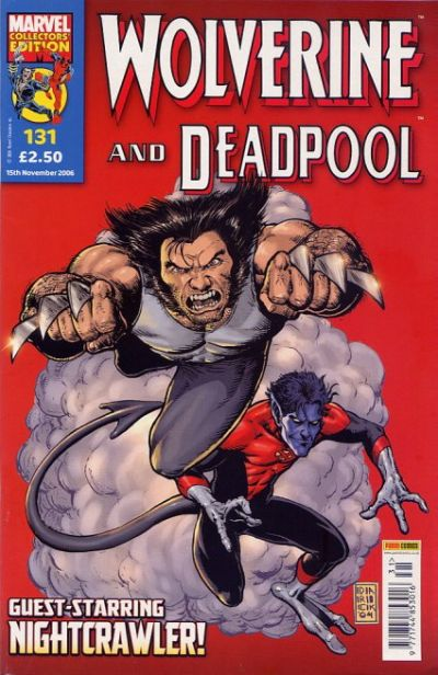 Cover for Wolverine and Deadpool (Panini UK, 2004 series) #131