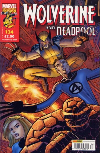 Cover for Wolverine and Deadpool (Panini UK, 2004 series) #134