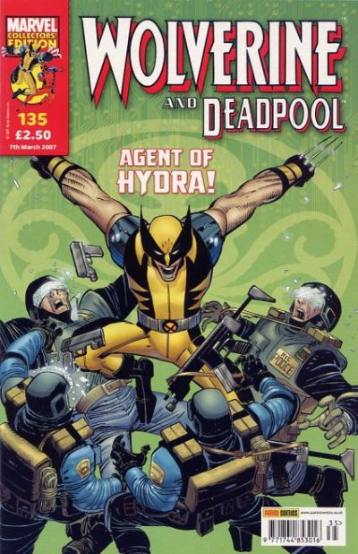 Cover for Wolverine and Deadpool (Panini UK, 2004 series) #135