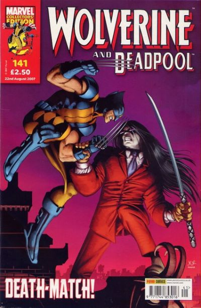 Cover for Wolverine and Deadpool (Panini UK, 2004 series) #141