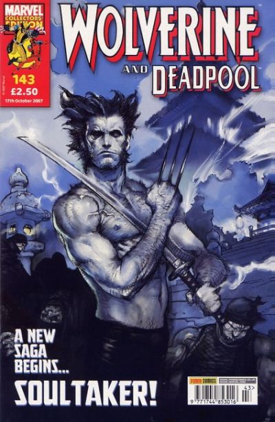 Cover for Wolverine and Deadpool (Panini UK, 2004 series) #143
