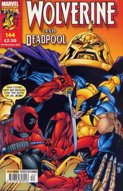 Cover for Wolverine and Deadpool (Panini UK, 2004 series) #144