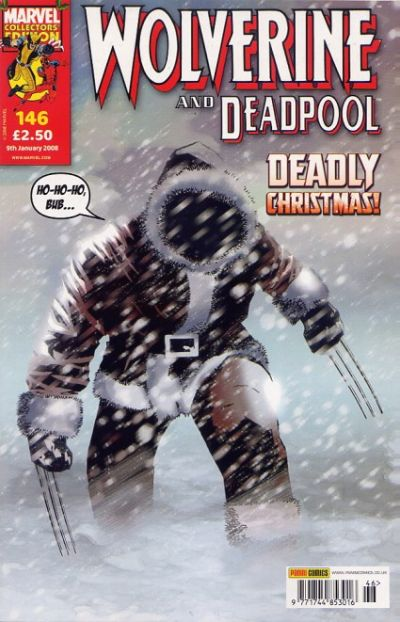 Cover for Wolverine and Deadpool (Panini UK, 2004 series) #146