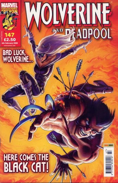 Cover for Wolverine and Deadpool (Panini UK, 2004 series) #147