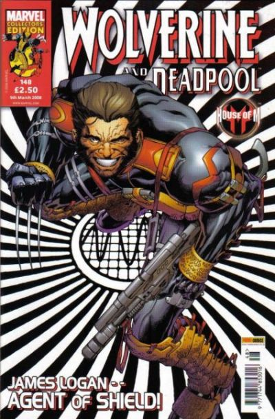 Cover for Wolverine and Deadpool (Panini UK, 2004 series) #148