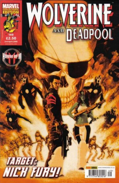 Cover for Wolverine and Deadpool (Panini UK, 2004 series) #149