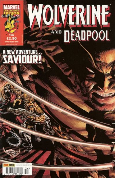 Cover for Wolverine and Deadpool (Panini UK, 2004 series) #156