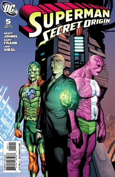 Cover for Superman: Secret Origin (DC, 2009 series) #5 [Gary Frank Superman Cover]