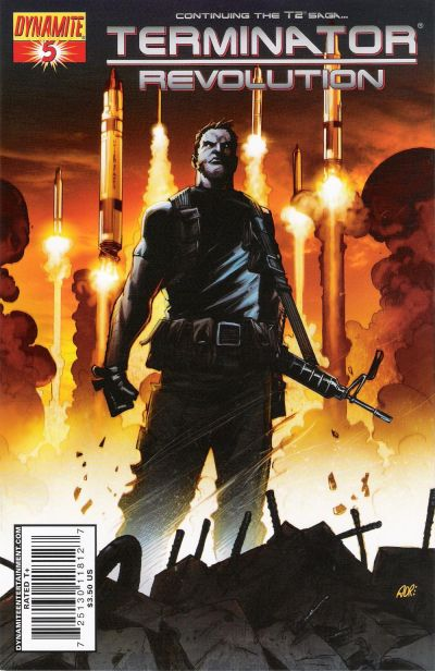 Cover for Terminator: Revolution (Dynamite Entertainment, 2008 series) #5