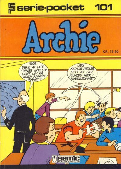 Cover for Serie-pocket (Semic, 1977 series) #101