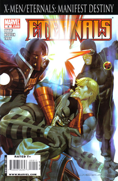 Cover for Eternals (Marvel, 2008 series) #9