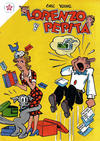 Cover for Lorenzo y Pepita (Editorial Novaro, 1954 series) #112
